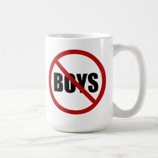 Ningunos muchachos permitieron la taza del icono