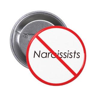 ¡Ningunos Narcissists! Pin Redondo 5 Cm