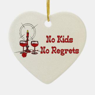 Ningunos niños ningunos pesares adornos