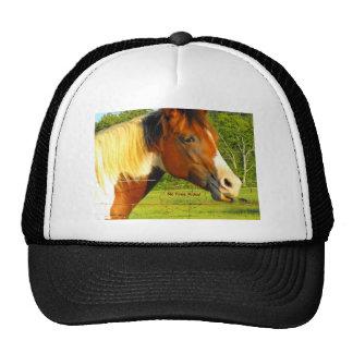 Ningunos pases gratises en caballo de la vida gorros