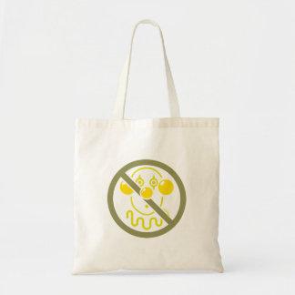 Ningunos payasos - amarillos limón bolsa tela barata