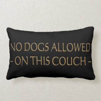 Ningunos perros no prohibidos las almohadas