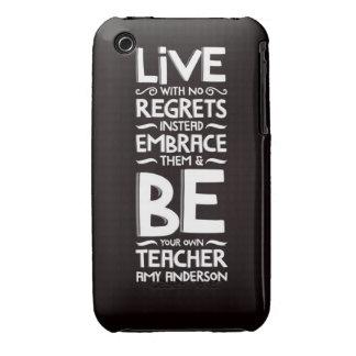 Ningunos pesares Case-Mate iPhone 3 protector
