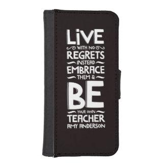 Ningunos pesares billetera para iPhone 5