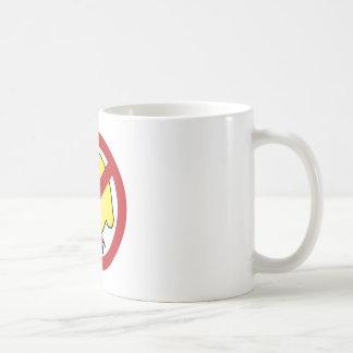 ¡Ningunos polluelos gordos! Taza De Café