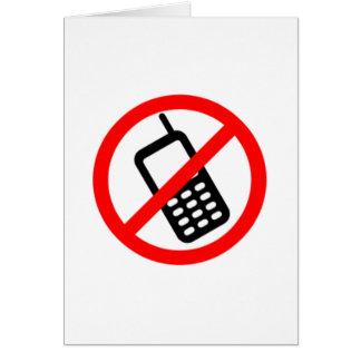 Ningunos teléfonos celulares tarjeta pequeña