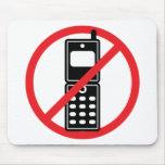 Ningunos teléfonos móviles tapetes de raton