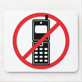 Ningunos teléfonos móviles tapetes de ratones