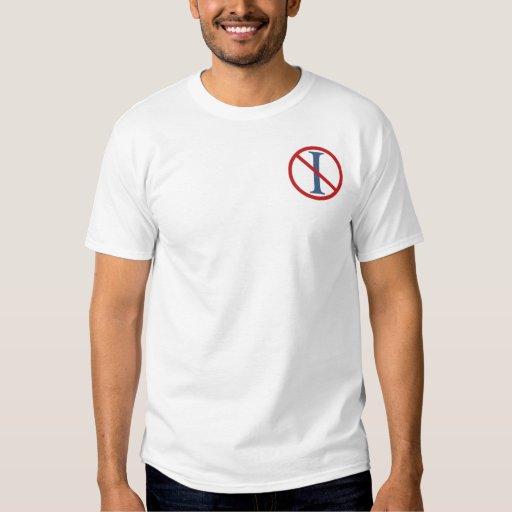 Ningunos titulares - camiseta blanca playera