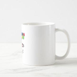 ningunos tramposos aquí taza de café