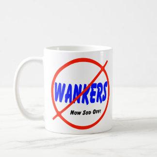 Ningunos Wankers Taza Clásica