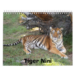 nini 002, tigre Nini Calendarios