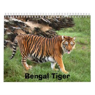 nini 008, Bengal Tiger Calendar