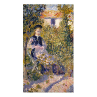 Nini in the Garden - Pierre-Auguste Renoir Business Card