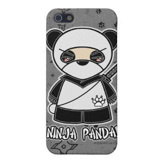Ninija Panda! Ninja iPhone 4 Case Grey