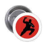 Ninja 2 Inch Round Button