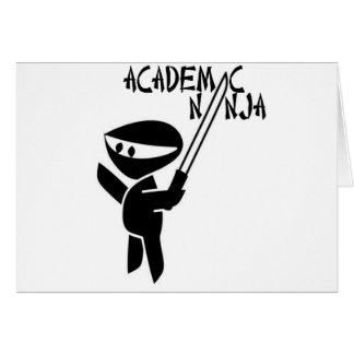 Ninja académico felicitaciones