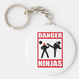 Ninja Academy Okinawa Kill Bill Basic Round Button Keychain