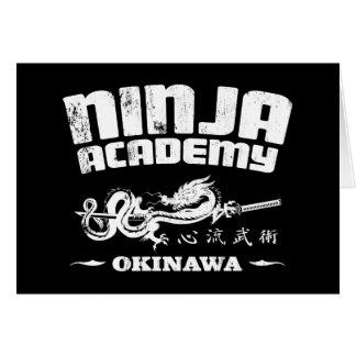 Ninja Academy Okinawa Kill Bill Card