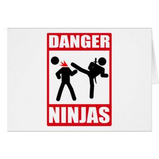 Ninja Academy Okinawa Kill Bill Greeting Cards