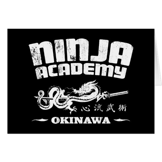 Ninja Academy Okinawa Kill Bill Card