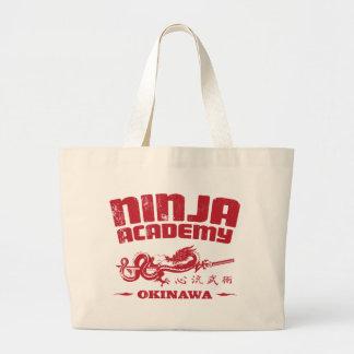 Ninja Academy Okinawa Kill Bill Large Tote Bag