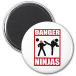 Ninja Academy Okinawa Kill Bill 2 Inch Round Magnet
