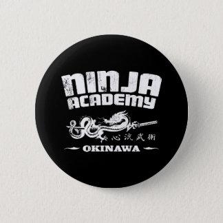 Ninja Academy Okinawa Kill Bill Pinback Button