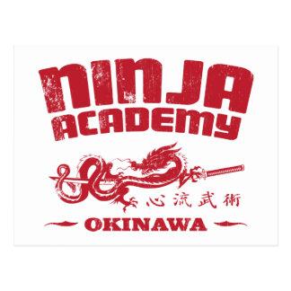 Ninja Academy Okinawa Kill Bill Postcards
