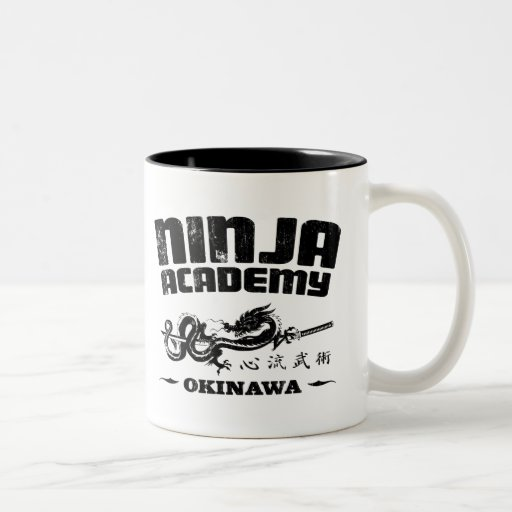 Ninja Academy Okinawa Kill Bill Two-Tone Coffee Mug