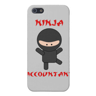 Ninja Accountant Cover For iPhone SE/5/5s