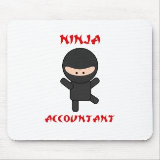 Ninja Accountant Mouse Pad