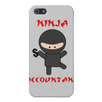 Ninja Accountant with Dollar Sign Case For iPhone SE/5/5s