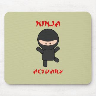 Ninja Actuary Mouse Pad