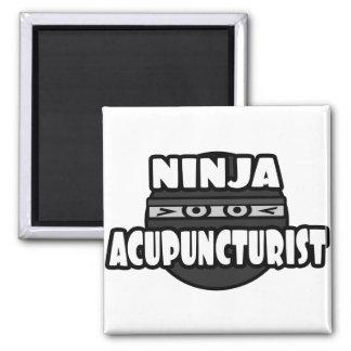 Ninja Acupuncturist Magnet