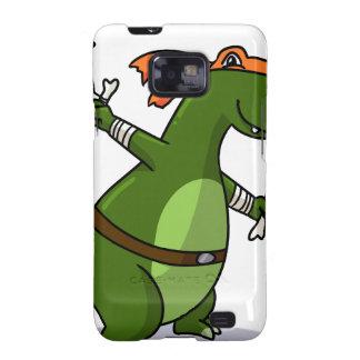 ¡Ninja adolescente T-rex del mutante! Galaxy S2 Carcasas