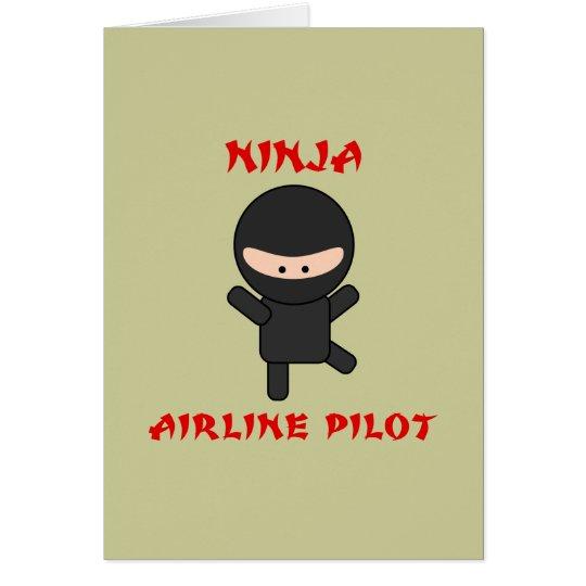 ninja airline pilot card