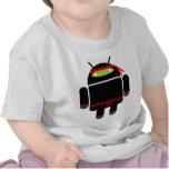 Ninja androide camiseta