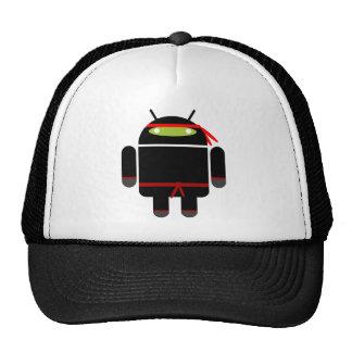 Ninja androide gorras