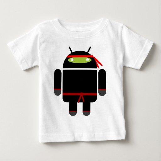 Ninja androide playeras