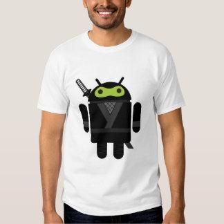 Ninja androide remeras