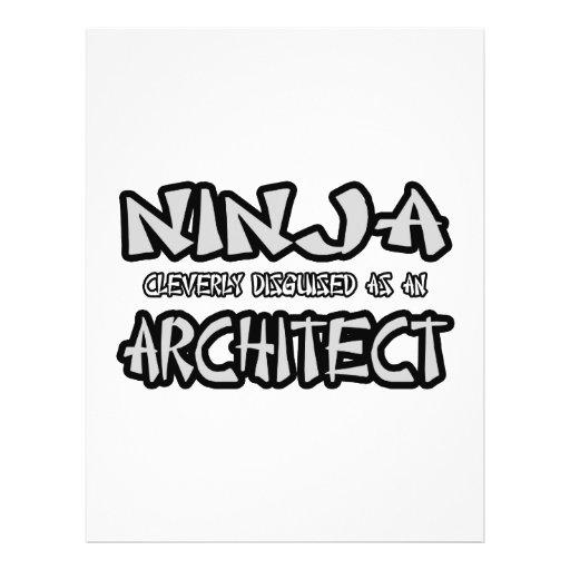 Ninja...Architect Custom Flyer