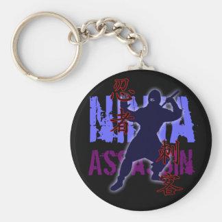 Ninja Assassin Keychain