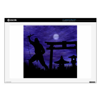 "Ninja Attack 17"" Laptop Skin"