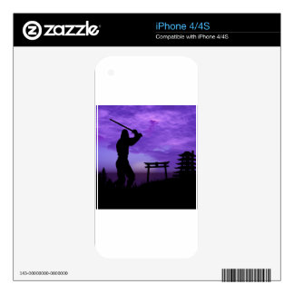 Ninja Attack iPhone 4 Decal