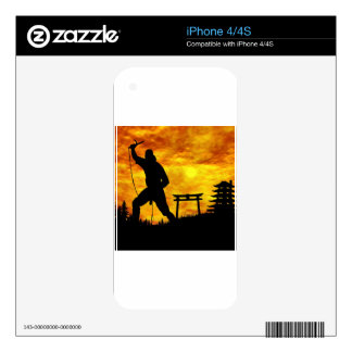 Ninja Attack iPhone 4S Skins