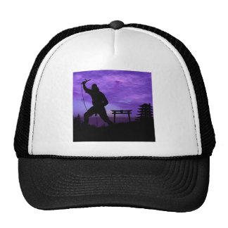 Ninja Attack Trucker Hat