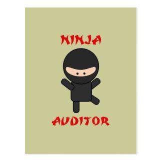 ninja auditor postcard