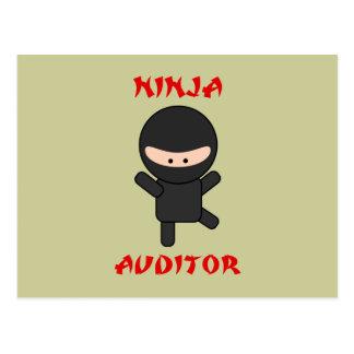 ninja auditor post cards