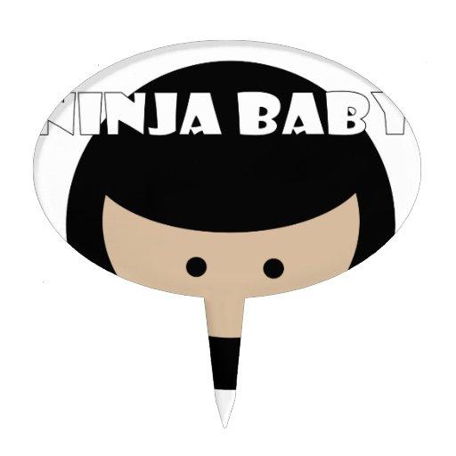 Ninja Baby Cake Pick